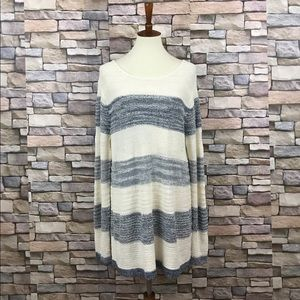 Calvin Klein Jeans Crew Neck Striped Sweater XXL